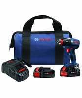 BOSCH IDH182-B24 - 18V Socket-Ready Impact Driver Kit w/(2) CORE18V Batteries