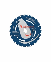"BOSCH DCB824 8-1/4"" 24T Construction Portable Saw Blade for Framing"