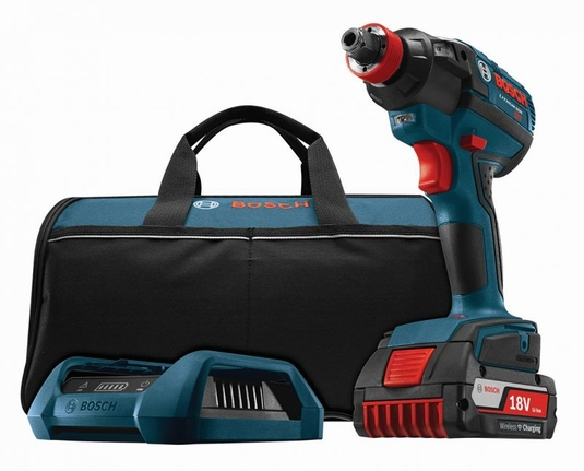 BOSCH IDH182WC-102 - 18V Socket-Ready Impact Driver Wireless Charging Kit
