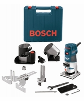 BOSCH PR20EVSNK - 1 HP Colt Variable Speed Electronic Palm Router Installers Kit