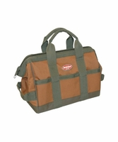 "Bucket Boss 60012 GateMouth 12"" Tool Bag w/ 16 Pockets, Super-Wide Opening"