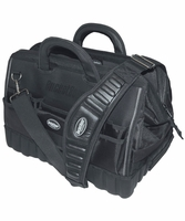 Bucket Boss 64018 Pro Gatemouth 18 Tool Bag, 17 Pockets, All-Terrain Bottom
