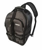 Bucket Boss 65160 Sling Pack Backpack Tool & Technology Bag, 24 Pockets