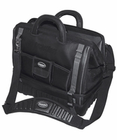 Bucket Boss 68018 Pro Drop Bottom 18 Tool Bag, 14 Pockets, All-Terrain Bottom