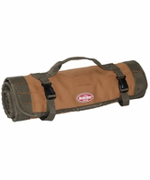 Bucket Boss 70004 Duckwear Canvas Tool Roll 22 Pocket, 17 Loops 3 pockets
