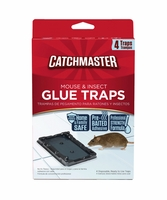 Catchmaster 104 Mouse & Insect Glue Traps - 4PK