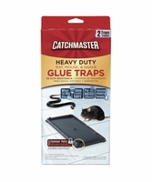 Catchmaster 404 Heavy Duty Rat, Mouse, & Snake Glue Traps - 2PK