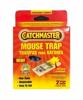 Catchmaster 603 Mouse Trap With Sure Snap Technology - 2PK
