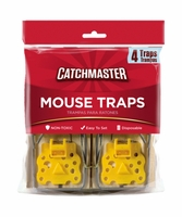 Catchmaster 604 Mouse Snap Traps With Expanded Trigger - 4PK