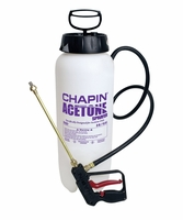 Chapin 21127XP Acetone XP Sprayer with Dripless Shut-off, 3 Gal