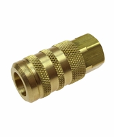 "Coilhose Pneumatics 15X4F 1/4"" 6-Point Industrial Coupler 1/4"" FPT"