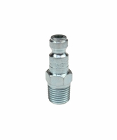 "Coilhose Pneumatics 1601 1/4"" Automotive Tru-Flate Connector Plug w/ 1/4"" MPT"