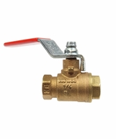 "Coilhose Pneumatics 21120F 1 1/4"" Brass Ball Valve"