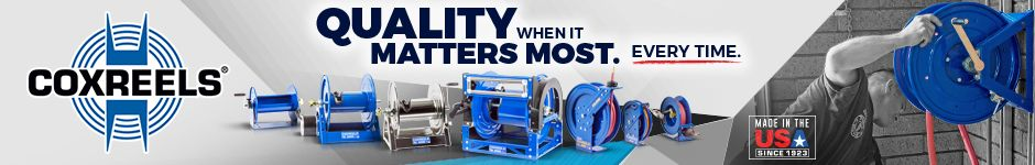Coxreels - Made in the USA - Quality when it Matters Most