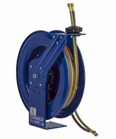"COXREELS SHW-N-150 Spring Driven Welding Hose Reel 1/4"" x 50ft oxy-acet 200PSI"