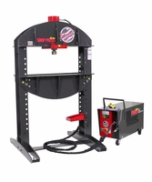 Edwards HAT4030 40 Ton Shop Press and Portable Power Unit 460V, 3Ph