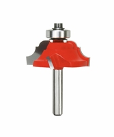 "FREUD 38-352 1-1/2"" Classical Cove and Bead Router Bit, Quadra-Cut"