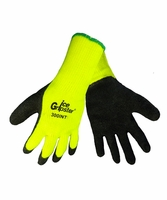 Global Glove 300INT-M Insulated Ice Gripster Rubber-Coated Gloves (Medium)