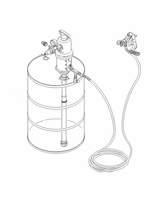 """GRACO 224826 Fire-Ball 300 151, 13"""" Spray Masking Package (400 lbs, 55G Drum)"""