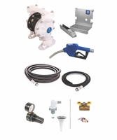 GRACO 24F878 SD Blue Deluxe DEF Pump Package for Tote Dispensing - No Meter