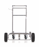 GRACO 24F915 Cart w/ Pneumatic Wheels for 400 lb (55G) Drums