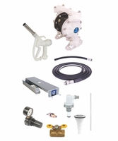 GRACO 24F947 SD Blue Deluxe DEF Pump Package for Drum Dispensing - No Meter