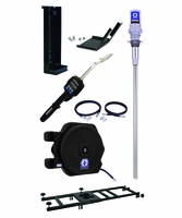 """GRACO 24H870 Preset Rigid 5:1 Oil Tote Mount Package with LD 1/2"""" x 35' Reel"""