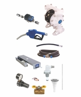GRACO 24M499 SD Blue Deluxe DEF Pump Package for Drum Dispensing with Meter