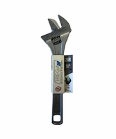 "IREGA IR92WR10 10"" Adjustable Wrench Reversible Jaw Xtra Capacity"
