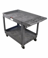 JET 140019 PC-37x25, Resin Utility Cart