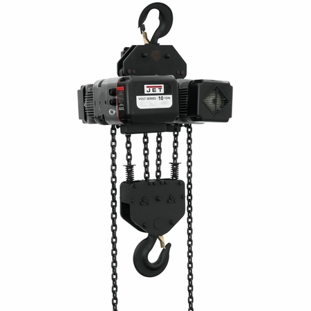 JET 181011 Volt 10T Variable-Speed Electric Hoist 3Ph 460V 10' Lift