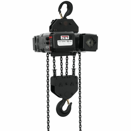 Jet 183030 VOLT 10T VARIABLE-SPEED ELECTRIC HOIST  3PH 230V 30' LIFT