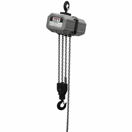 JET 331000 3SS-3C-10, 3-Ton Electric Chain Hoist 3-Phase 10' Lift