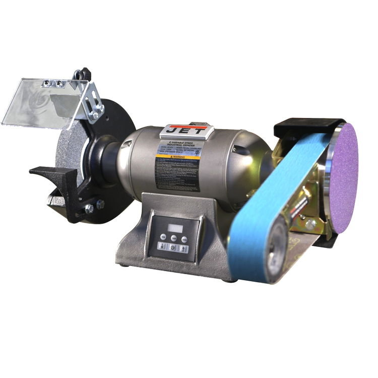 Jet 577218 Ibgm 8vs Industrial Variable Speed Grinder With Multitool Attachment Fastoolnow Com