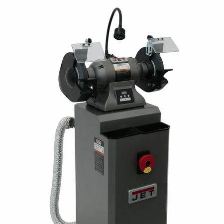 Jet 578208 Ibg 8vs 8 Quot Variable Speed Industrial Grinder