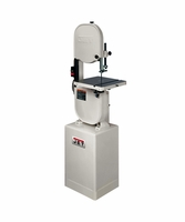 "JET 708115K 14"" Closed Stand Bandsaw, 1HP, 1Ph, 115/230V"