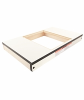 """Jet 708324R Wood Extension Table,  27"""" x 16"""", Router Cutout, XACTA"""