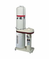 JET 708642BK DC-650 1HP CFM Dust Collector with