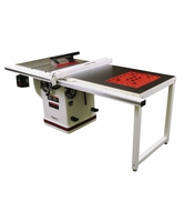 "JET 708678PK Deluxe Xacta Saw 3HP, 1Ph, 50"" Rip with Downdraft Table and Leg Set"
