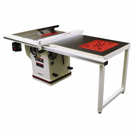 JET 708678PK Deluxe Xacta Saw 3HP, 1Ph, 50 Rip with Downdraft Table and Leg Set