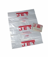 "JET 709563 Clear Plastic 20"" Diameter Collection Bag for DC-1100VX and DC-1200VX"