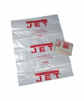 "JET 709565 Clear Plastic 14"" Diameter Collection Bag for DC-650"