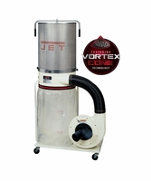 JET 710702K DC-1200VX-CK1 Dust Collector, 2HP 1PH 230V, 2-Micron Canister Kit