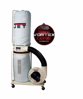 JET 710703K DC-1200VX-BK3 Dust Collector, 2HP 3PH 230/460V, 30-Micron Bag Filter