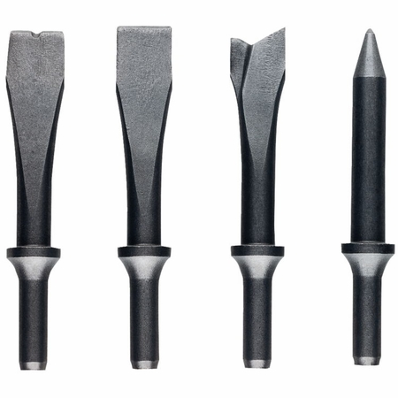 JET JSG-1304, 4-Piece Chisel Set for Riveting Hammers