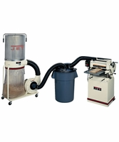 JET jw1049 2- STAGE DUST COLLECTION HOOD