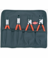 KNIPEX 001956 4 piece Retaining Ring Pliers Set 19-60 mm