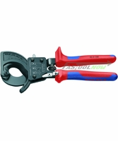 "KNIPEX 9531250 10"" Ratchet Action Cable Cutters"