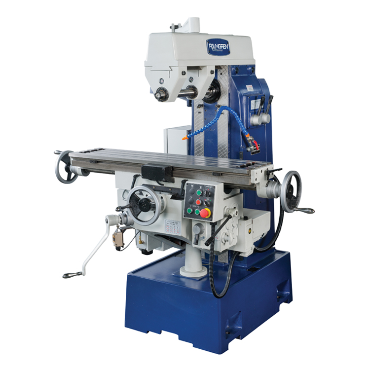 Horizontal Milling Machine >> Palmgren 9680163 Horizontal Mill W Vertical Mill Head Attachment