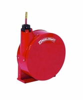 """Reelcraft 5435-ELP 1/4"""" x 35' Enclosed Reel, 300 psi, Air/Water with Hose"""